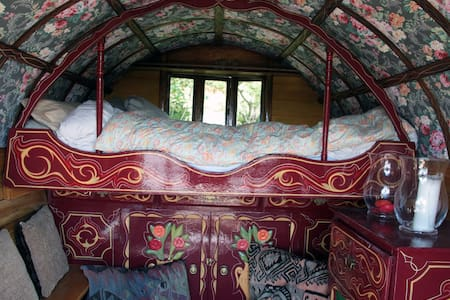 Traditional Gypsy Caravan - Ayside