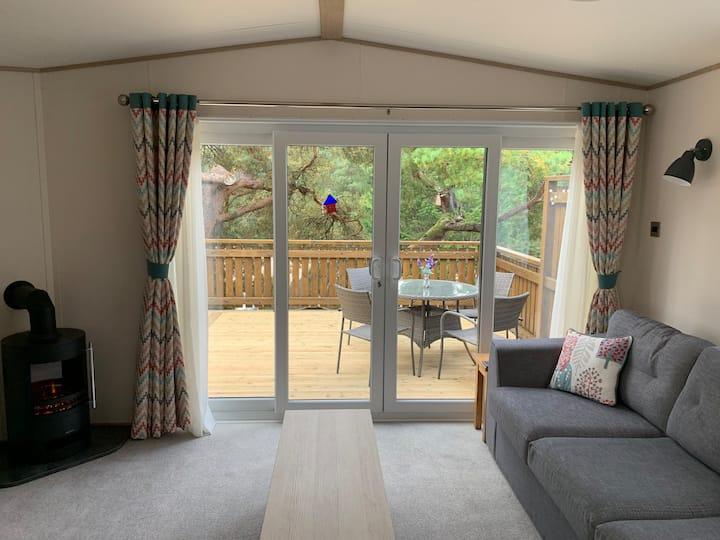 Blair Atholl Luxury Lodge with stunning views
