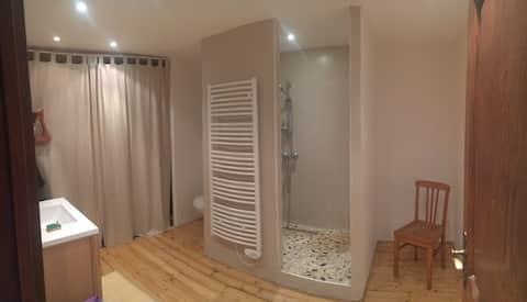 """Chambre """" Apolline """"  à Metz-Technopôle-Grigy"""