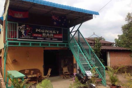 Monkey Bar Koh Kong Apartment 38m2 family operated