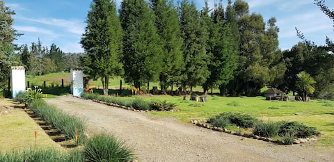 Relaxation and rest in the countryside of Boyaca