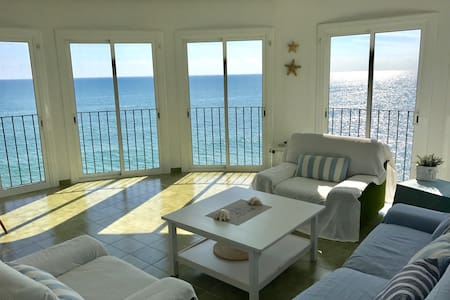 Amazing house in first line the sea - Sitges - Appartement