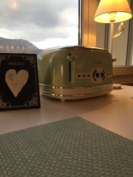 Toaster and Heart
