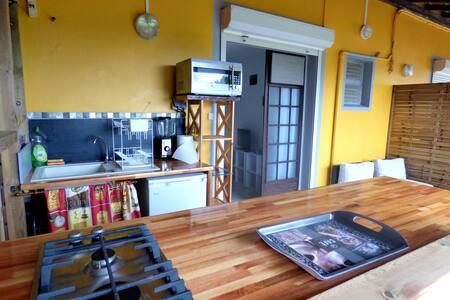 studio calme à 2 pas de la mer - Tartane - La Trinité - Apartemen