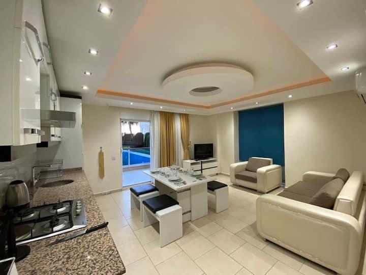 Full eşyalı side life deluxe apartments