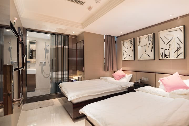 Deluxe Suit Rm 103 At  Jordan Station - 佐敦 - 아파트