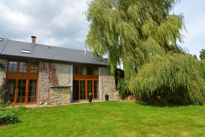 Charming stone house near the historic center of Durbuy