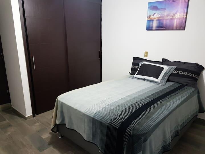 Amplia habitación en Metepec.