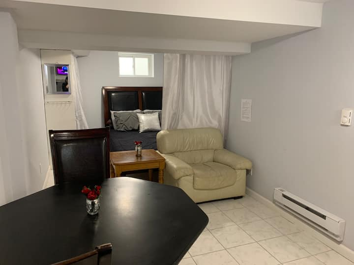 Studio haledon nj ,2 guest,kitc,tv,nefl,wifi