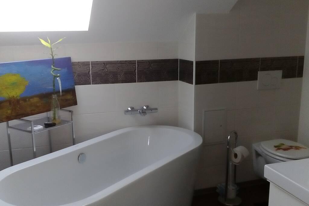 Badezimmer mit WC, extra 2. WC