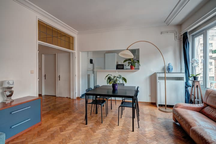 Spacious Apartments in The Center of Antwerp 2L