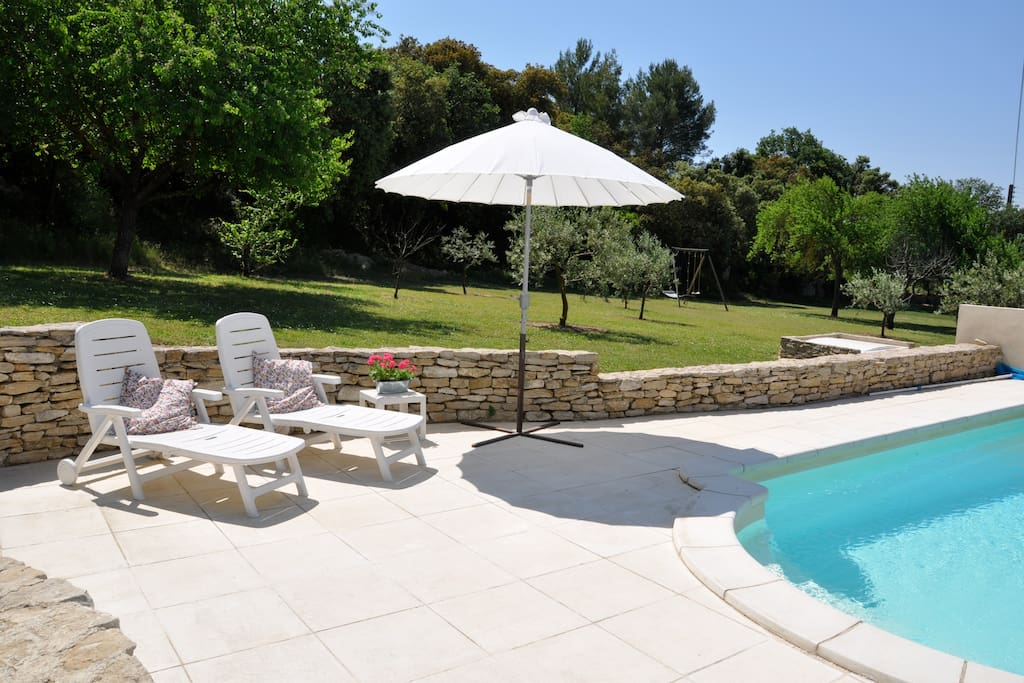 Terrace and private swimming pool