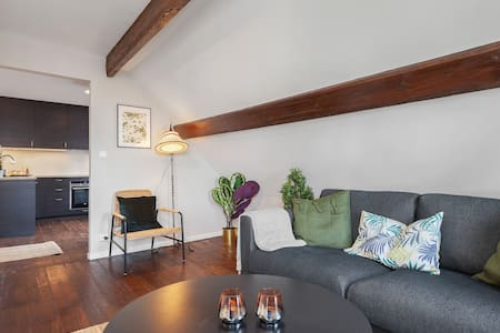 Central and cozy apartment - parking included!