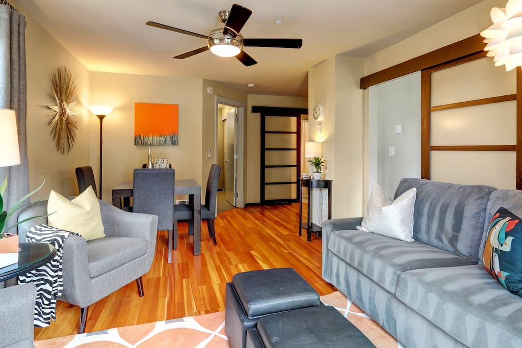 Downtown Oasis Sleeps 5 Freeparking Open 4 23 25 Apartments For Rent In Seattle Washington