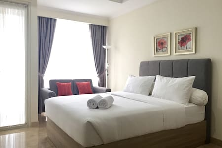 Clean & Cozy Studio in Menteng, Central Jakarta