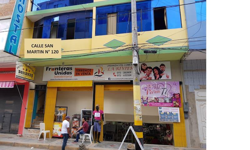 HOTEL CÓMODO Y SEGURO EN LA FRONTERA CON ECUADOR