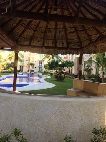 Bonito departamento en Acapulco marina duamante