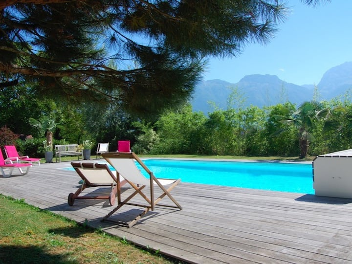 Saint Jorioz - family House With Pool and view