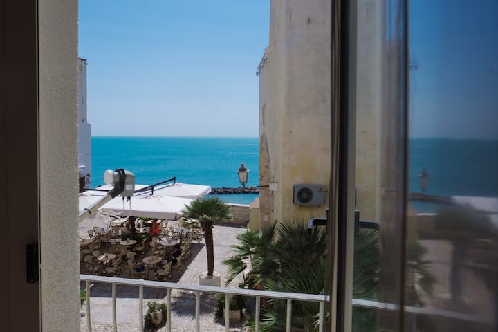 Central  charming apartment, sea view