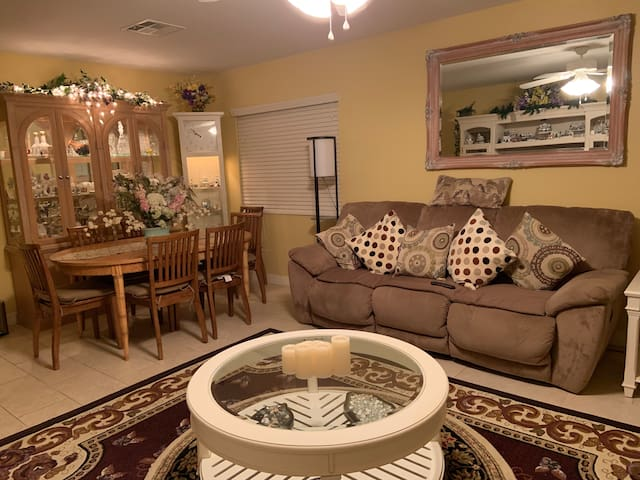 Front Room with dining or studying table