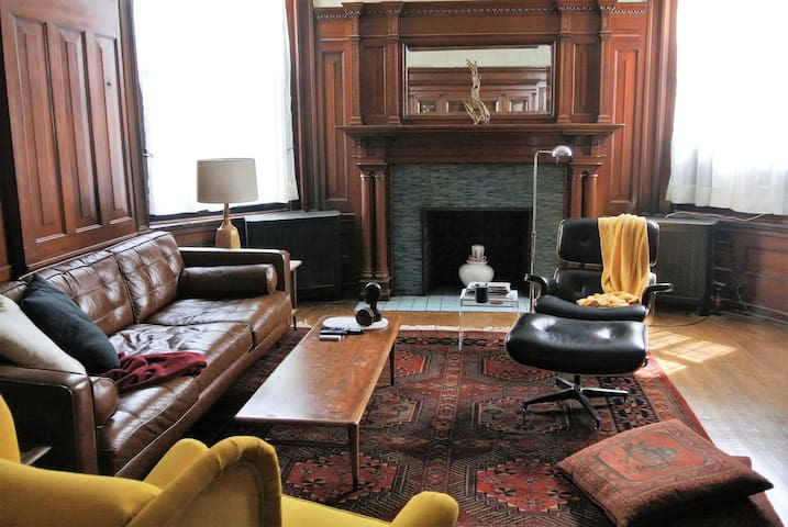 Spacious historic apartment in Point Breeze - Pittsburgh - Appartement