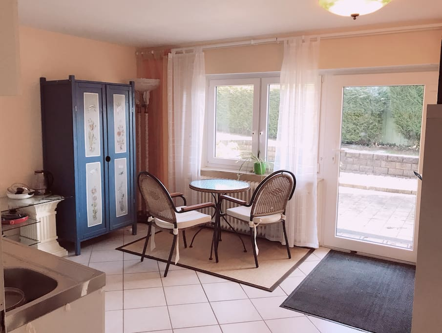 Küche & Eingangsbereich