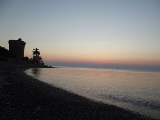 Santa Maria Di Lota, Cap corse, bord de mer