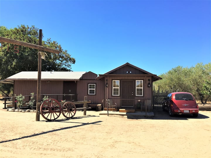 """The Bunk House"" at Harris Stage Lines"