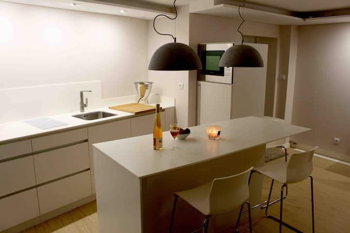Au calme, proche de Strasbourg, studio design