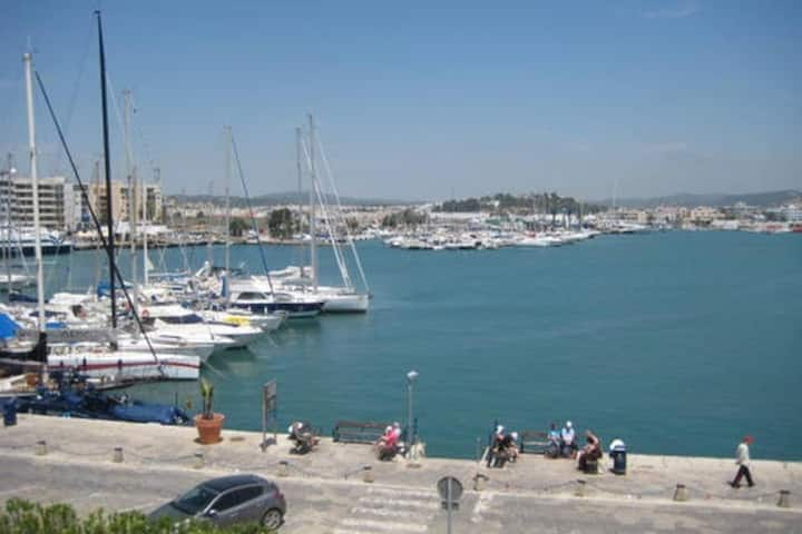 Wonderful Sea View Studio in Ibiza Port!!! 2