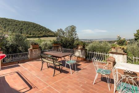 Florence with a view Rignalla - Matrimoniale 1p - Bagno a Ripoli