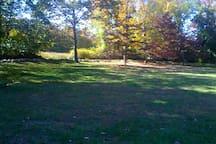 Autumn colors surround...