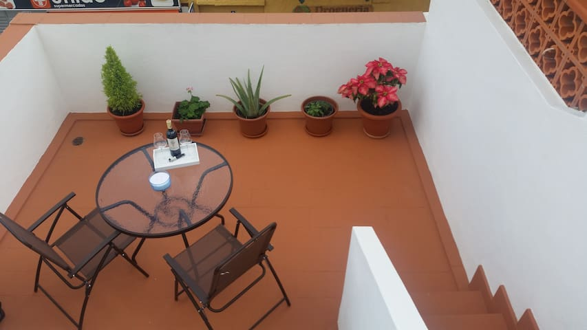COSY APARTAMENT PRIVATE ROOF TERRACE - San Andrés - Huis