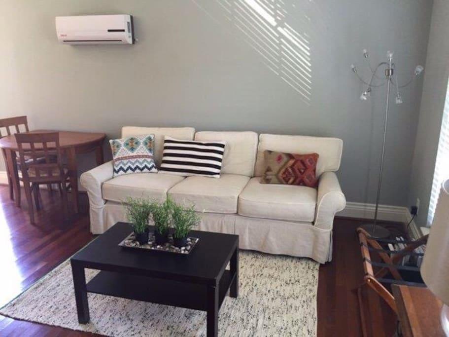 Modern sitting area