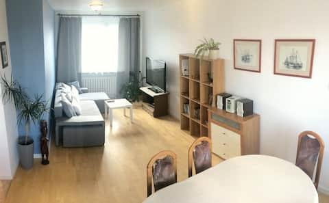 Appartement in Ursynów perfecte locatie (2-6 personen)