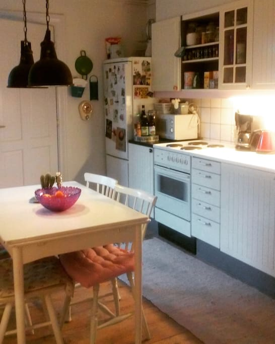 Spacious and cosy kitchen