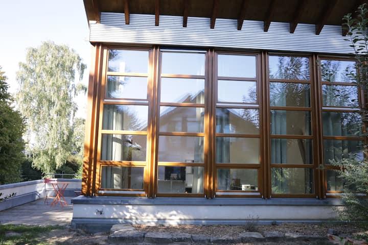 Maisonette, modern Architecture, Lemgo/Brake