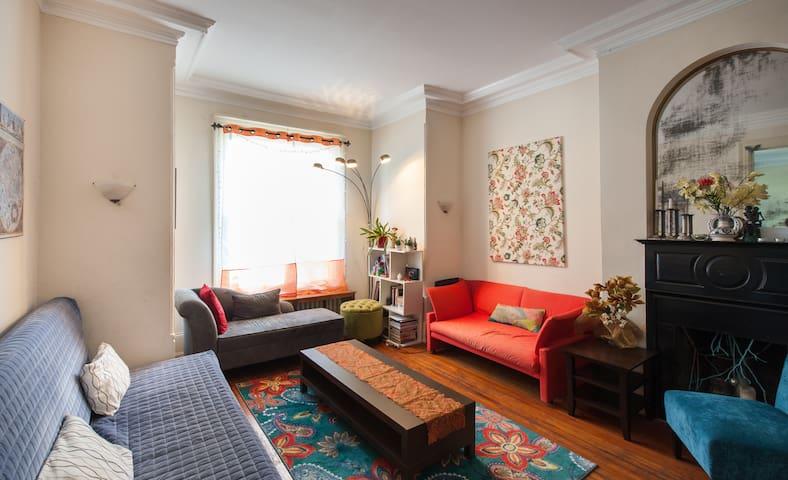 Large room in Historic Dupont house - Washington - Huis