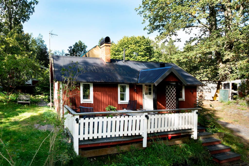 Cosy Minivilla Ca 40 Km From Stockholm Centre Houses For