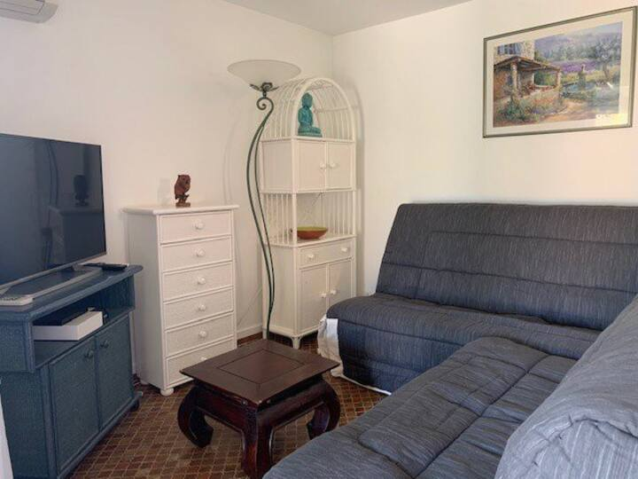 Very charming 2 rooms for 4 people close to all amenities