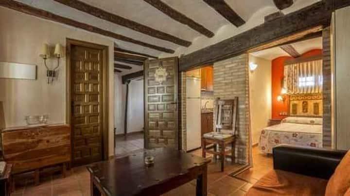 LA ALCOBA (Apartamentos Los Aljezares) en Gea