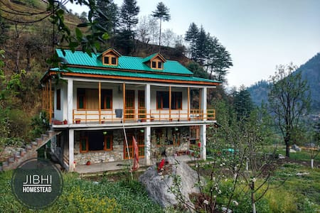 jibhi homestead | Family Suite |River Side|Orchard