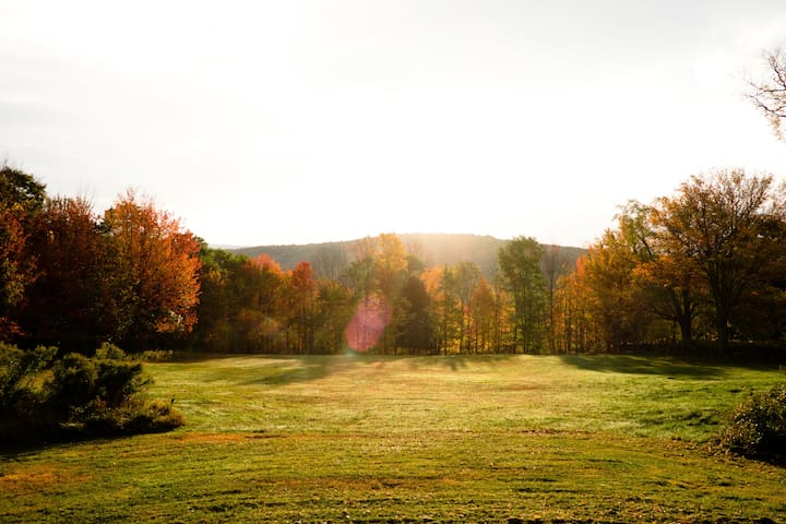 Fall sunrise at Black Bear Ridge