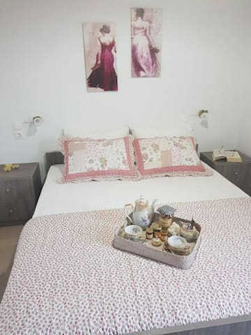 Bedroom - with double bed