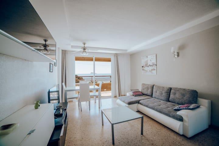 Benidorm appartement aan het levante strand c2