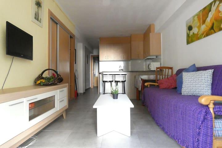 Salou,apartamento PLAYA Capellans 4. PORT AVENTURA