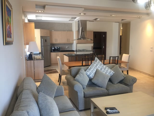 Fully furnished 3brs  apartment in near 3rd circle