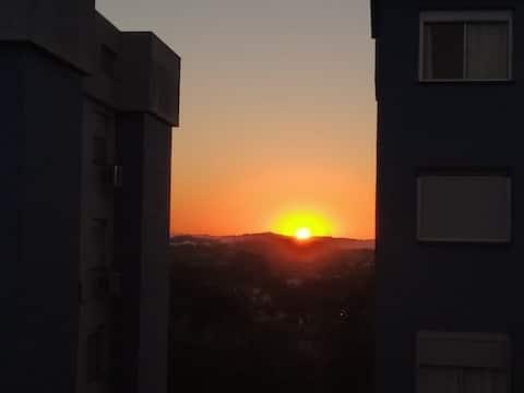 Viamão Centro - apartamento em Condomínio fechado