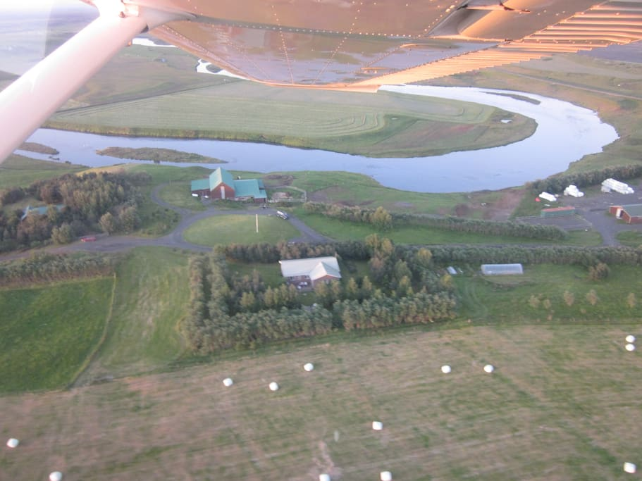 Our farm from the air