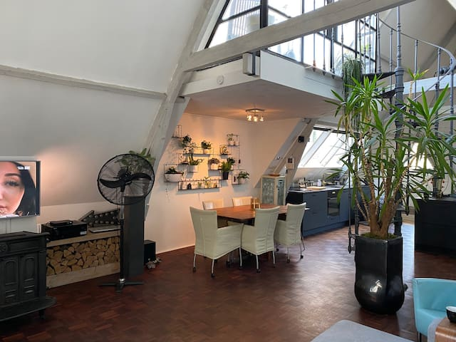 Exquisite Design Loft in city centre
